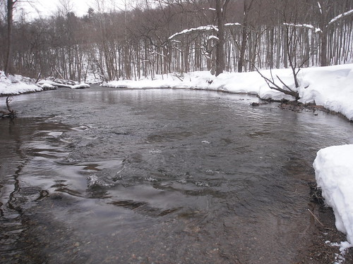 The Gunpowder River After The Second Blizzard.