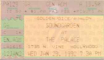 Soundgarden, Palace