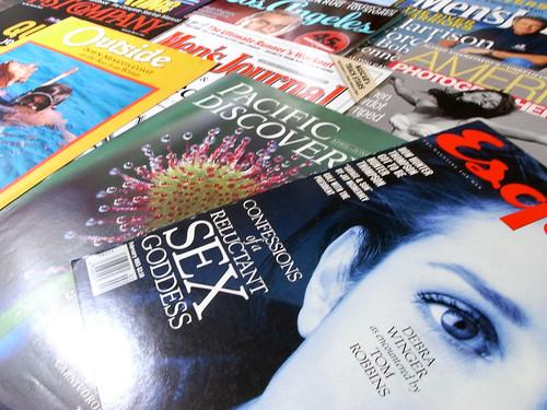 Magazine Logos by Jim Parkinson