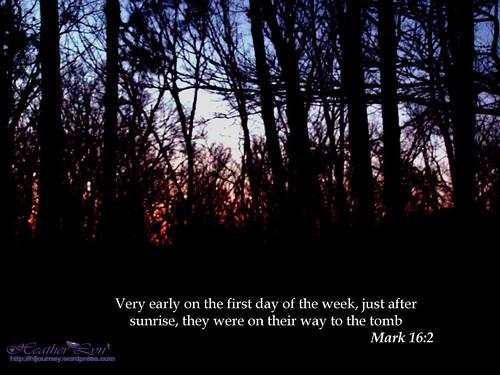 Mark 16:2