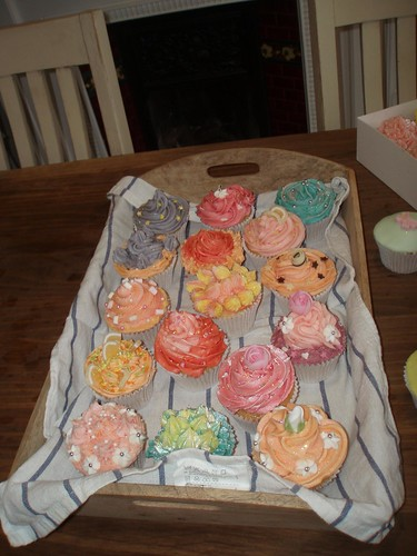 Cirencester Cupcakes - Decorating Workshop Creations