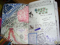Details - Scribble widly using only borrowed p...