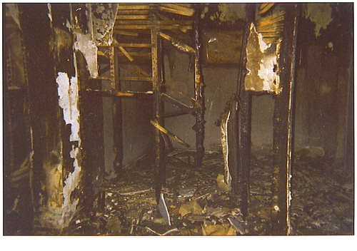 Fire repair - Before