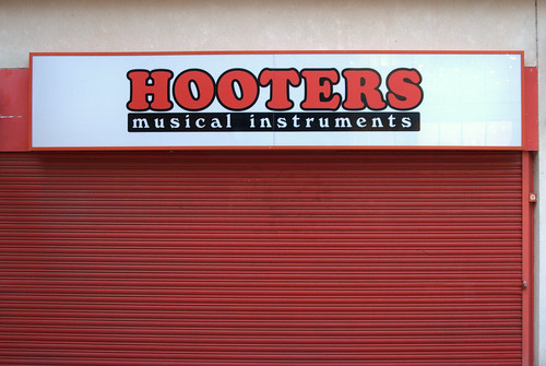 Hooters musical instruments