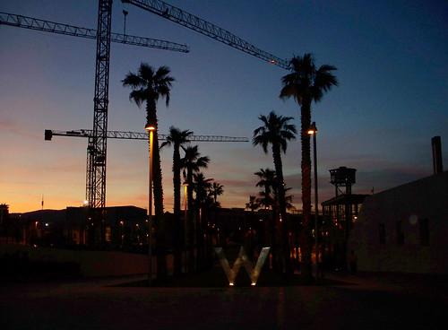 w hotel barcelona sunset
