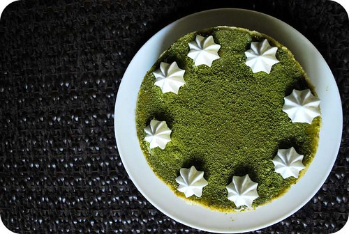 Green Tea & White Chocolate Cheesecake