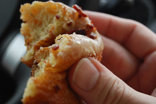 Apple Bacon donut