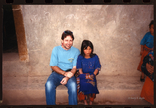 making friends in Chajul