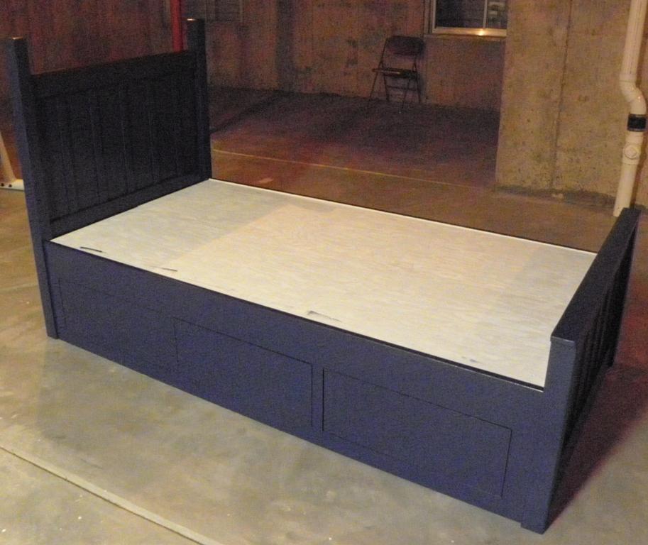 Assembled Bed