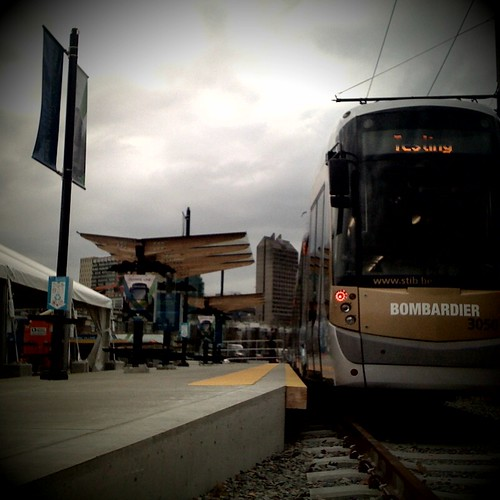 "Olympic Line streetcar ""testing"" #van2010"