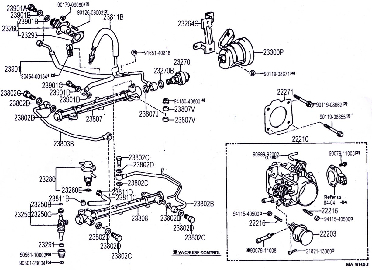 Toyota 22r Engine Parts Diagram Toyota Auto Wiring