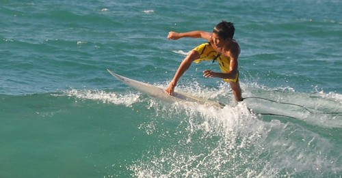 Surfing Kids in La Union