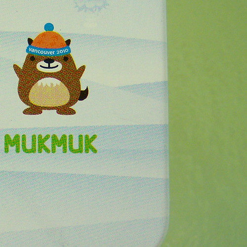 2010 VANCOUVER WINTER OLYMPICS | THE LOOK OF THE GAMES :: MASCOTS ::: MUKMUK 1