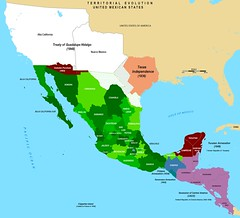 Mexico's Territorial Evolution