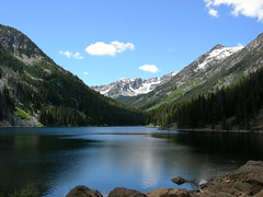8 Mile Lake in Alpine Lakes