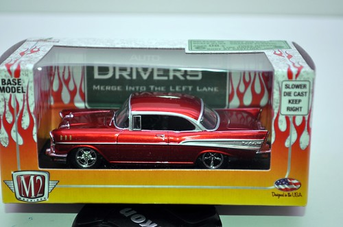 m2 chevy bel air red