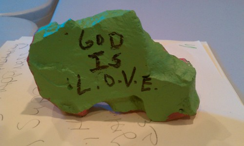 Student work: God is LOVE