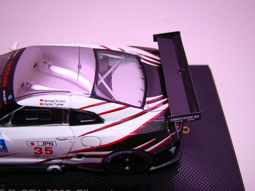 EBBRO NISSAN GT-R GT1 2009 SILVERSTONE (11)