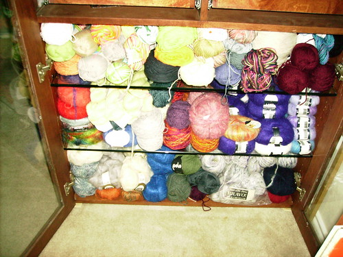 Bottom of Yarn Cabinet 4.17.10