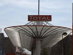 Total benzinestation Calandstraat
