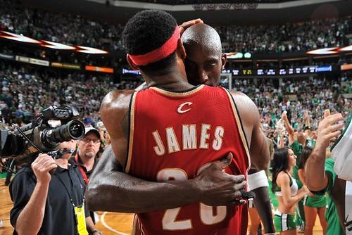 LeBron y Garnett