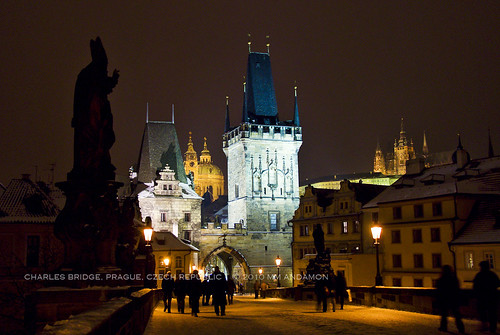 Malá Strana Bridge Towers, Charles Bridge