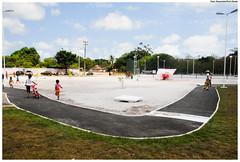 Academia da Saúde é espaço para exercícios e prevenção à Saúde. Foto:Passarinho/Pref.Olinda