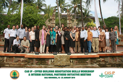 Building Negotiation Skills Workshop & Interim National Partners Initiative Meeting