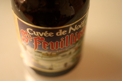 second brew, st. feuillien cuvee de noel