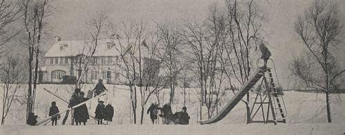 Children Playing on Miller Park Playground, 1917