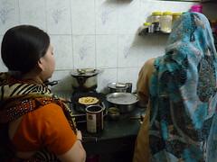 Kochkurs mit drei indischen Hausfrauen