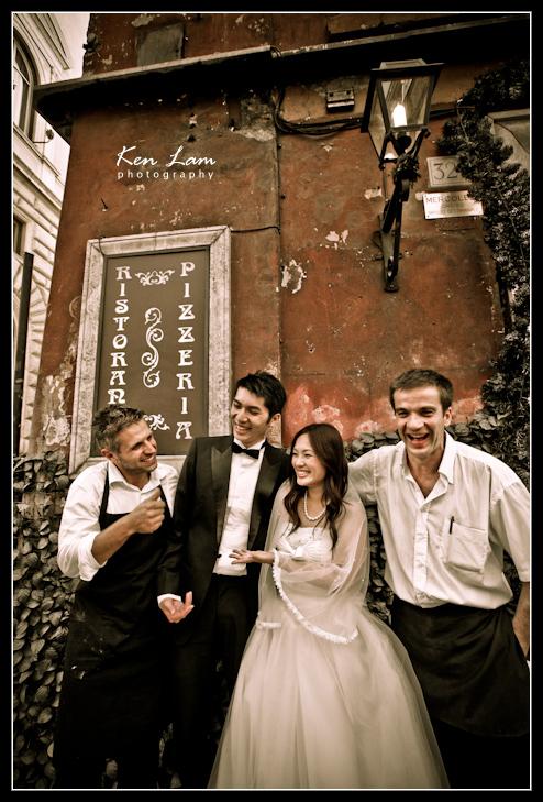 Zeta & Bryan - Rome, Italy