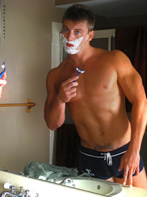Gay Men Shaving 81