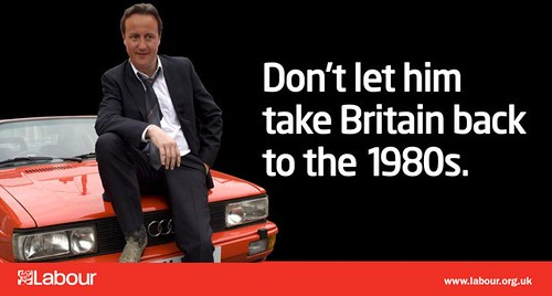 David Cameron vs Gene Hunt