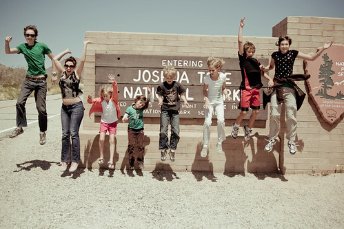 Jump for Joshua Tree National Park!