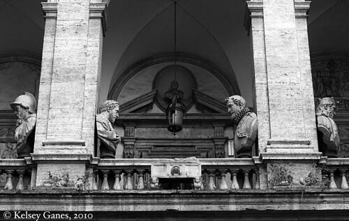Palazzo Mattei - Busts
