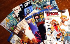 A selection of comics