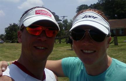 Stern with Samantha McGlone