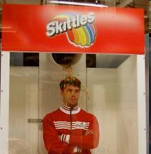 Skittles, rain