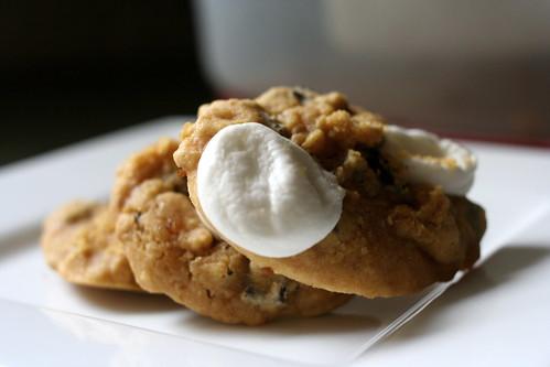 Vegan S'mores Cookies
