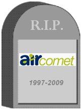 Air Comet Tombstone