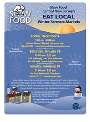 Slow Food Market Flyer