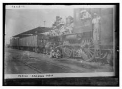Mexico- Fed. Armored train (LOC)