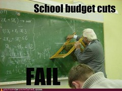 School Budget Cuts FAIL