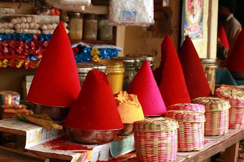 Kumkum colours