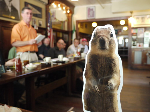 Crasher Squirrel at Boston Media Makers 5/2/10