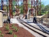 Cedar Point - Shoot the Rapids Railroad Crossing