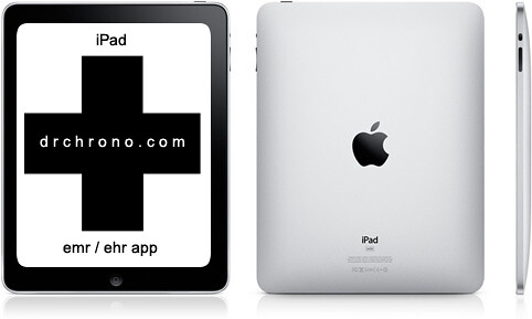 iPad EHR drchrono logo