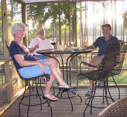 Having drinks with Dan & Donna