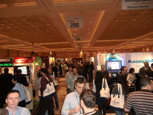 Exhibit Hall at Affiliate Summit West 2010